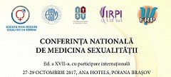 Conferința Natională de Medicina Sexualității Ed. a XVII - 2017